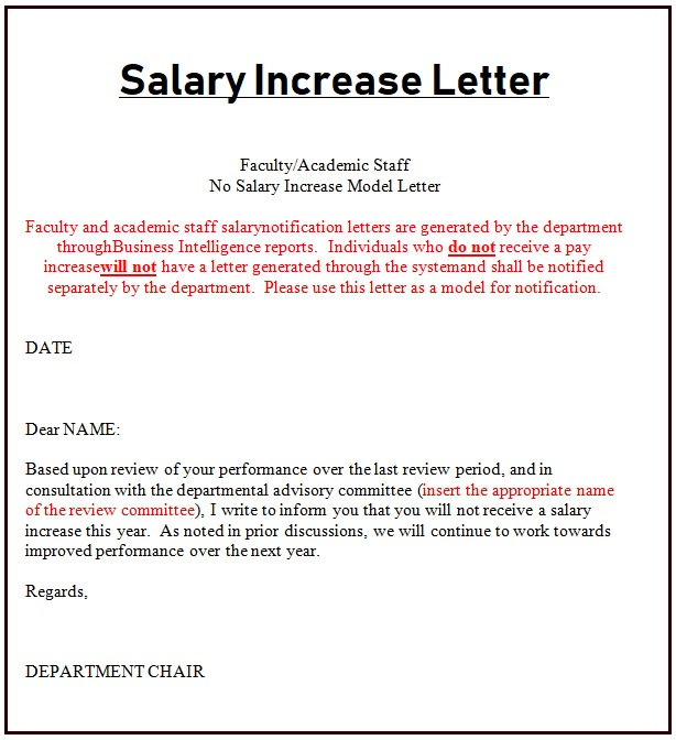 Salary Increment Letter Samples from www.payslipstemplates.com